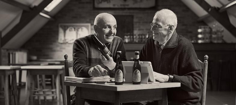 Marc & Luc Staes - verkopers in België - Marc en Luc Staes vormen een tandem binnen het verkoopteam van Brouwerij Van Den Bossche